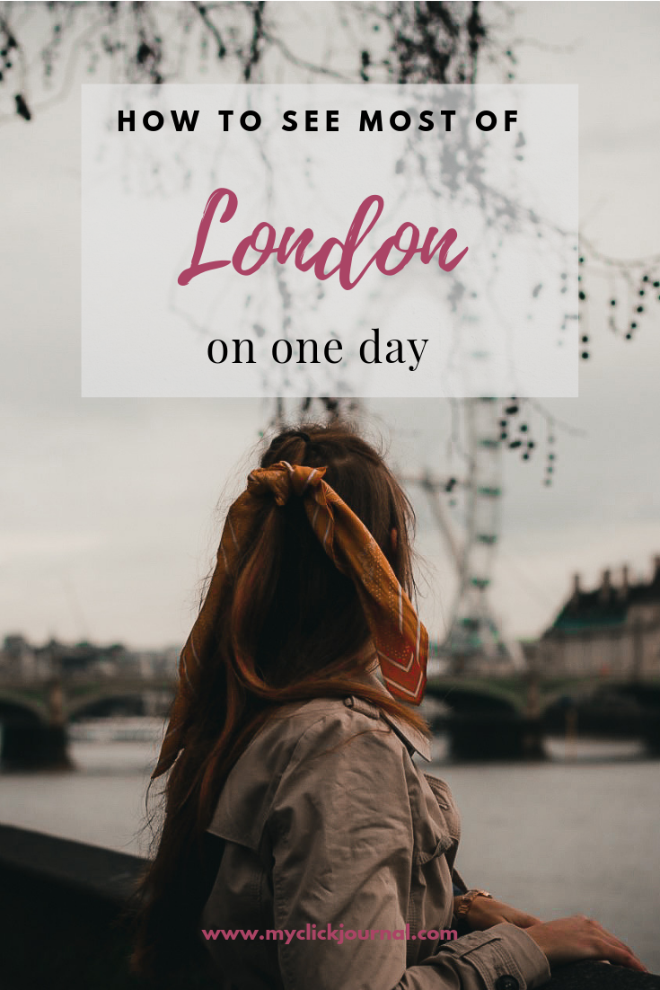 How to see london in 1 day