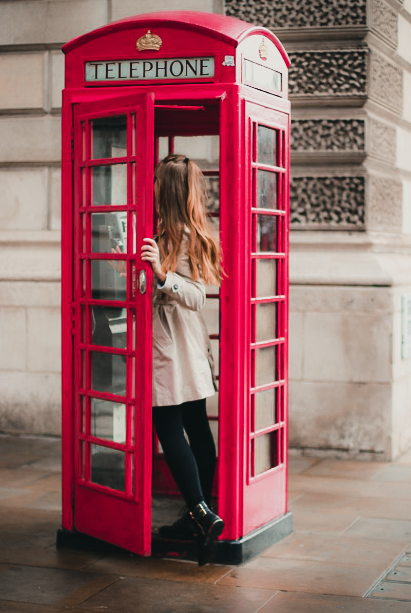 London telephone box How to see london in 1 day