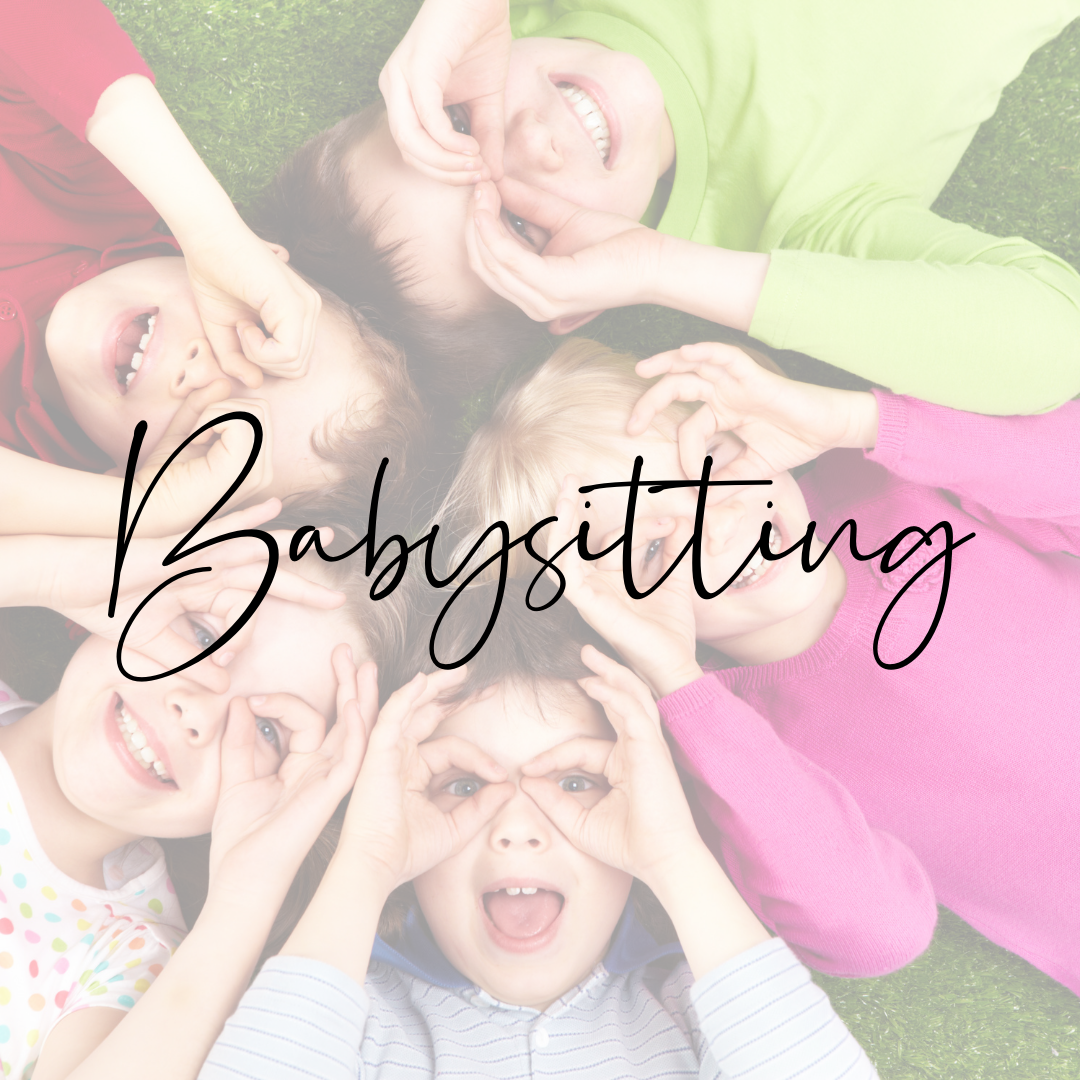 babysitting Ways to make money as a student