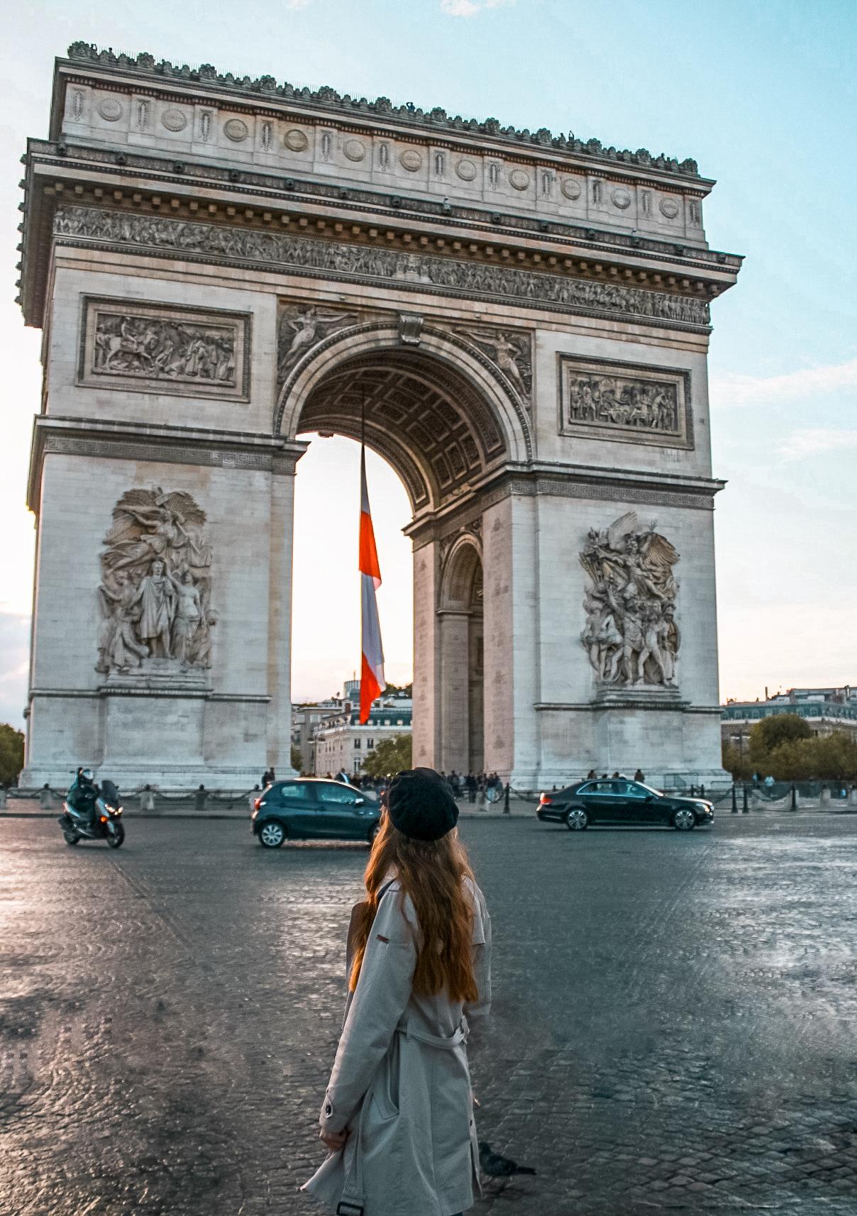 Arc de triomphe Top 10 Photo Spots in Paris