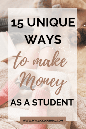 ways to make money as a student