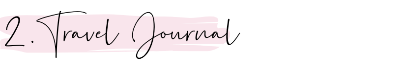 travel journal as study abroad essential