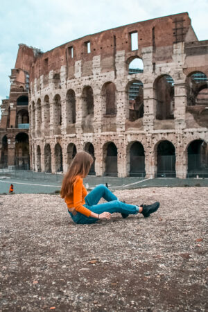 Rome travel photography on Europe 2 week itinerary by train