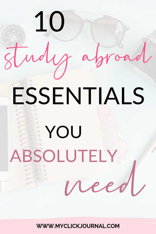 10 study abroad essentials you absolutely need