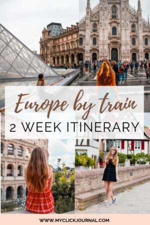 Europe 2 week itinerary - Europe by train guide