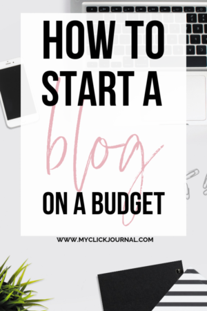how to start a profitable blog on a budget as a student