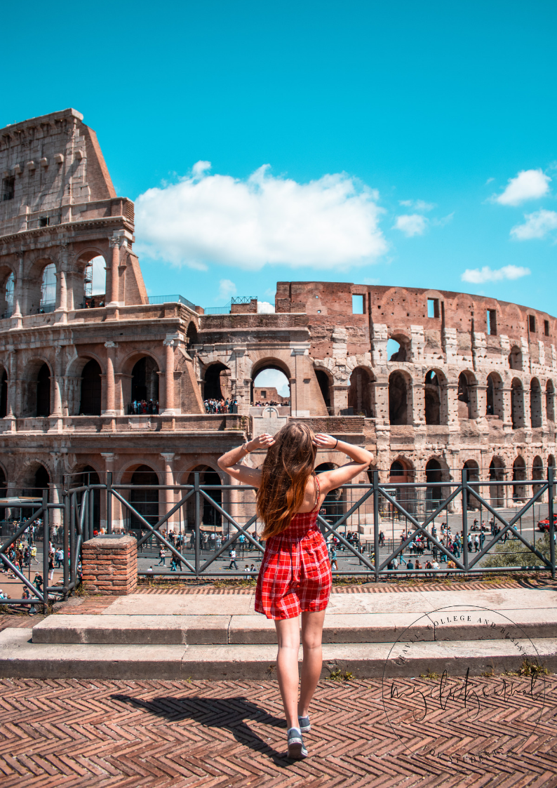 Colosseum hidden picture spots in rome in 3 days itinerary