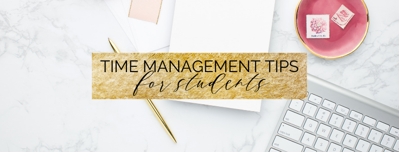 time management tips for students cover