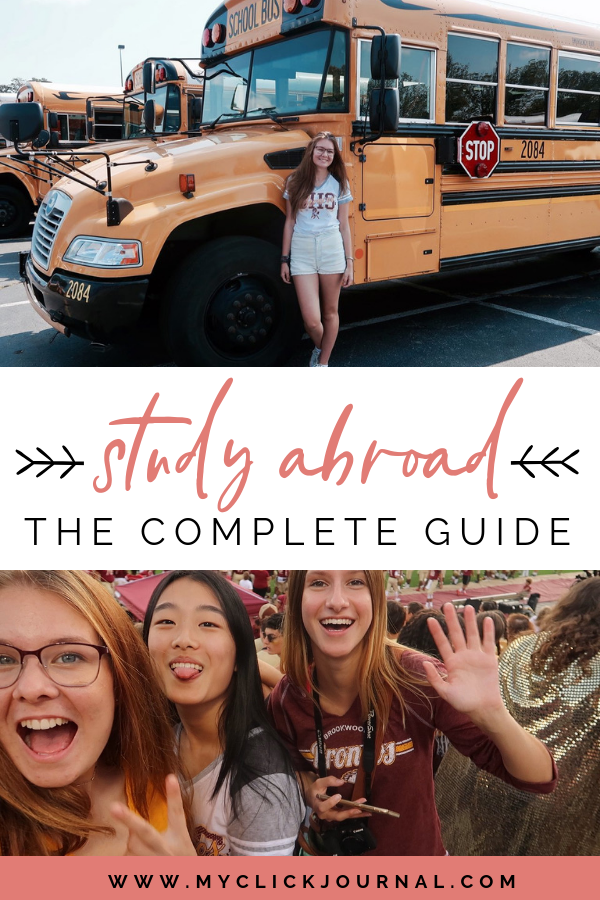 study abroad the complete guide