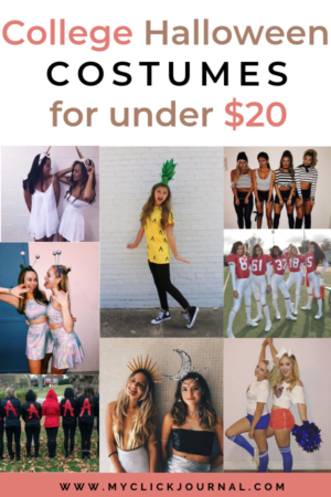 College halloween costumes for under $20