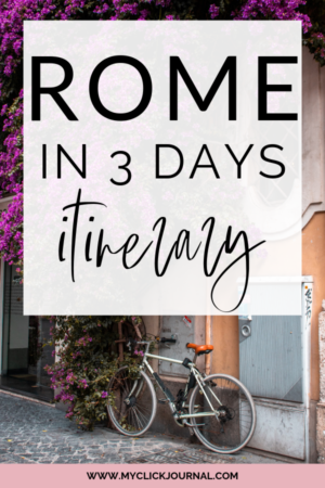 rome in 3 days