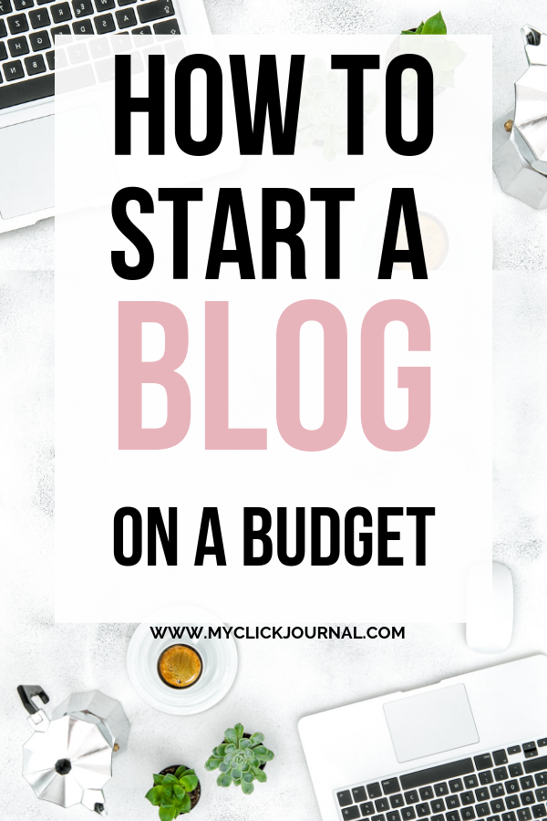 how to start a moneymaking wordpress blog on a budget