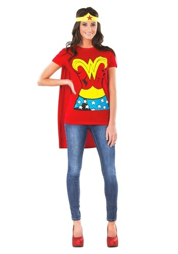 wonderwoman halloween college costume