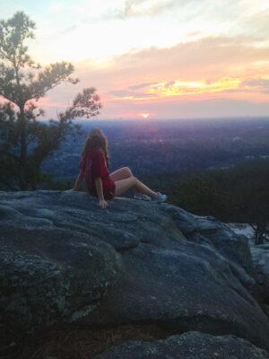 fall bucket list sunset hike