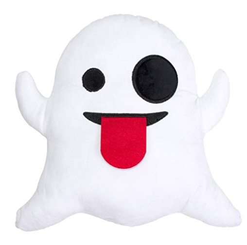 ghost pillow halloween room decor