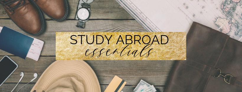 study abroad essentials