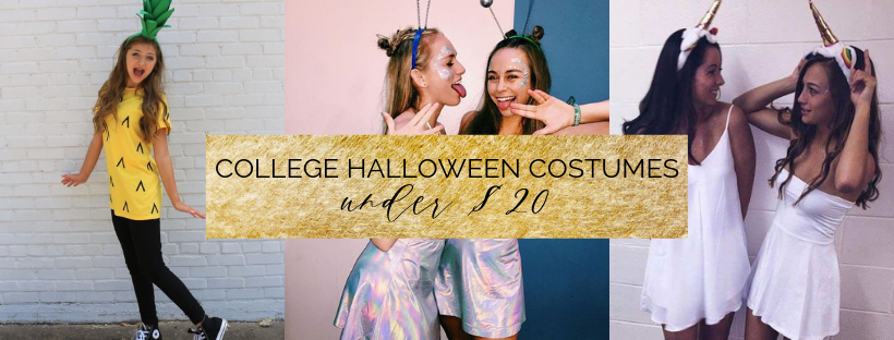 Last-Minute Halloween Costumes under $20