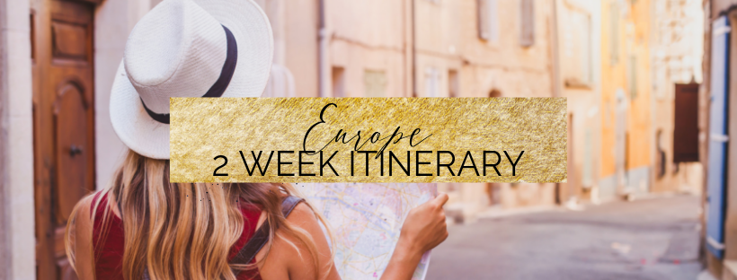 Europe 2 week Itinerary Guide | Europe by Train