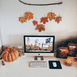 fall dorm room ideas