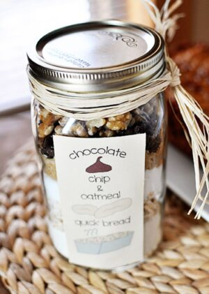 Bread in a Jar gift idea