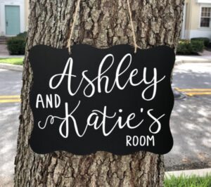 college dorm room sign in gift ideas