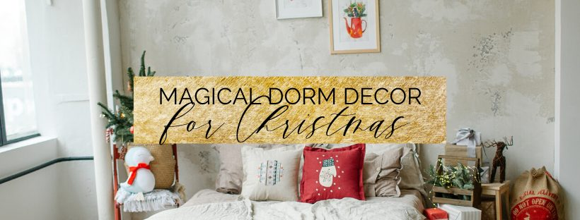 christmas dorm room ideas