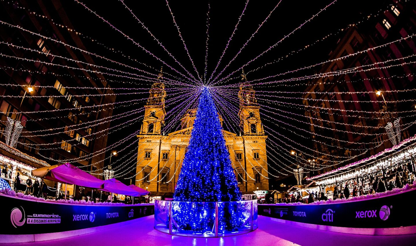 magical christmas destinations on a budget: budapest