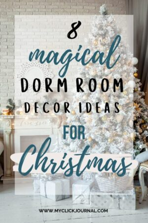 magical dorm room ideas for christmas time and the holidays