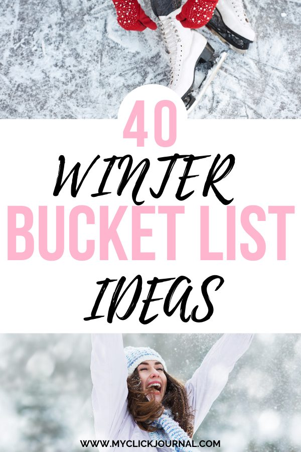things to do in winter in college