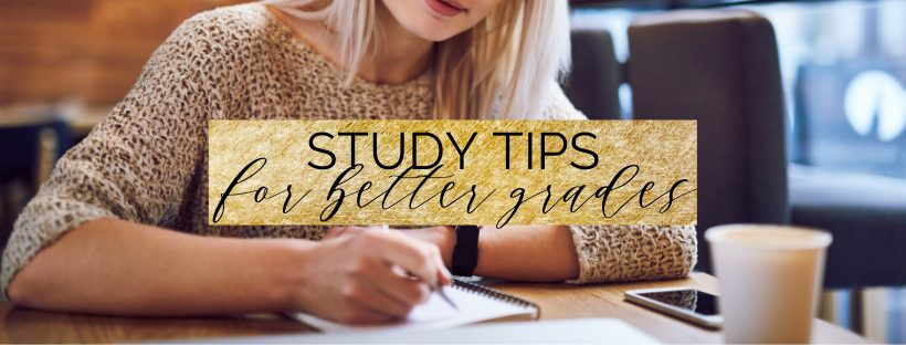 5 study tips for better grades in 2020