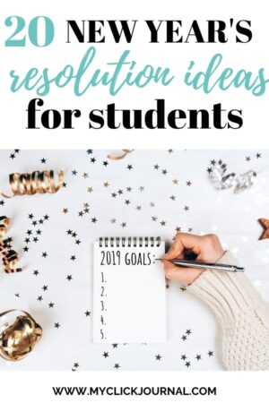 20 new year's resolution ideas for students 2020