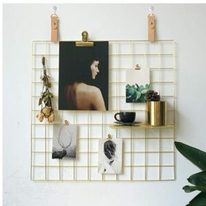 wall grid hanger college organization