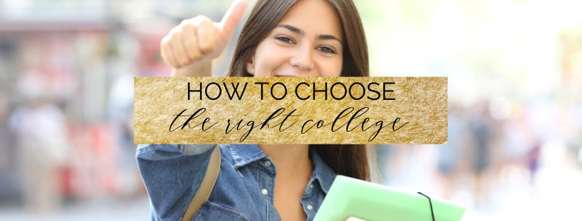 What is the right college for me? The ultimate guide!