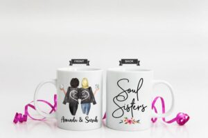 personalized bff mugs