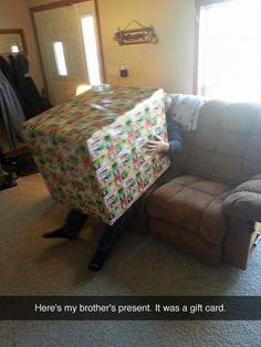 gift prank