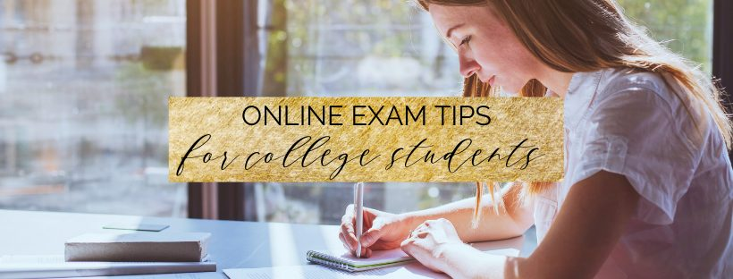 Online Exam Tips | How to Ace an Online College Exam