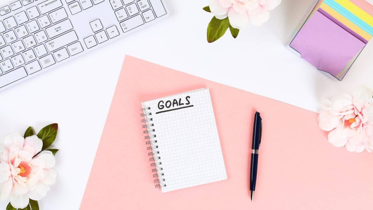 set goals first