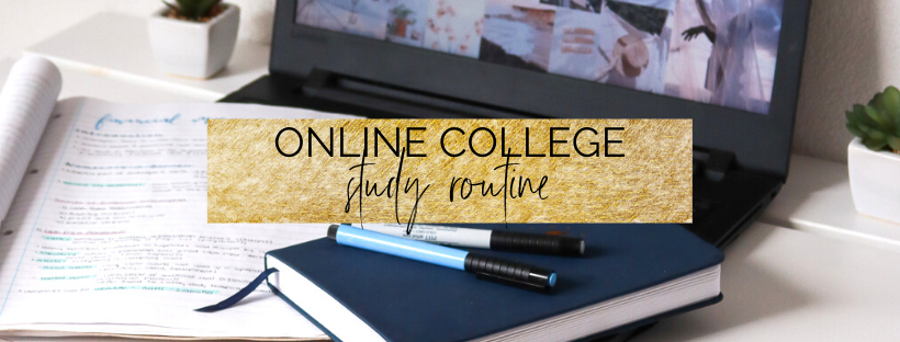use this online college study routine to get a 4.0 GPA!   myclickjournal