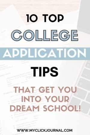 college application tips!