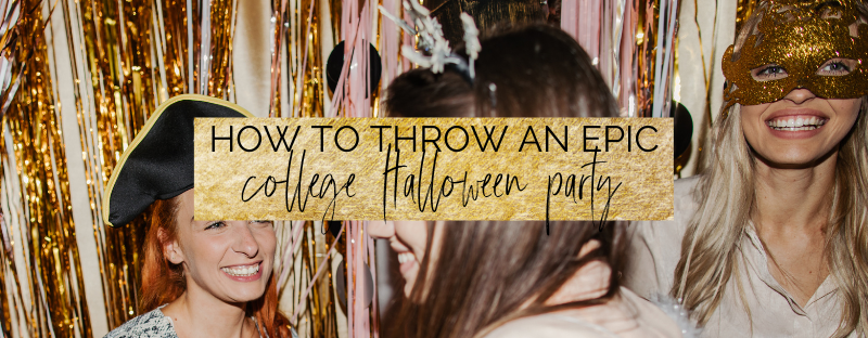 How to throw an epic college halloween party on a budget | myclickjournal