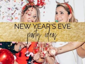 New Year's eve party ideas for students